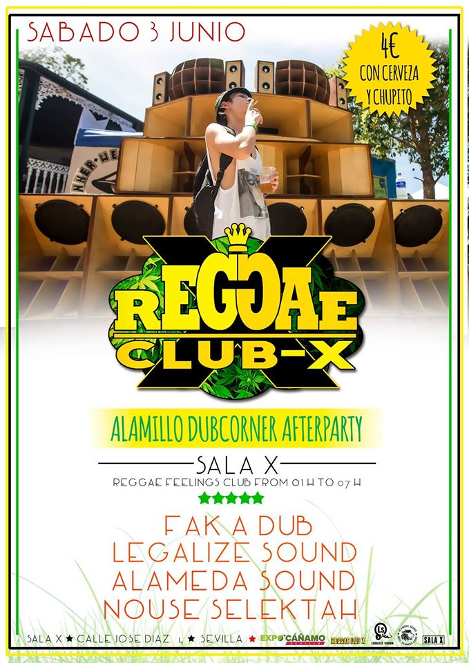 REGGAE CLUB X JUNIO