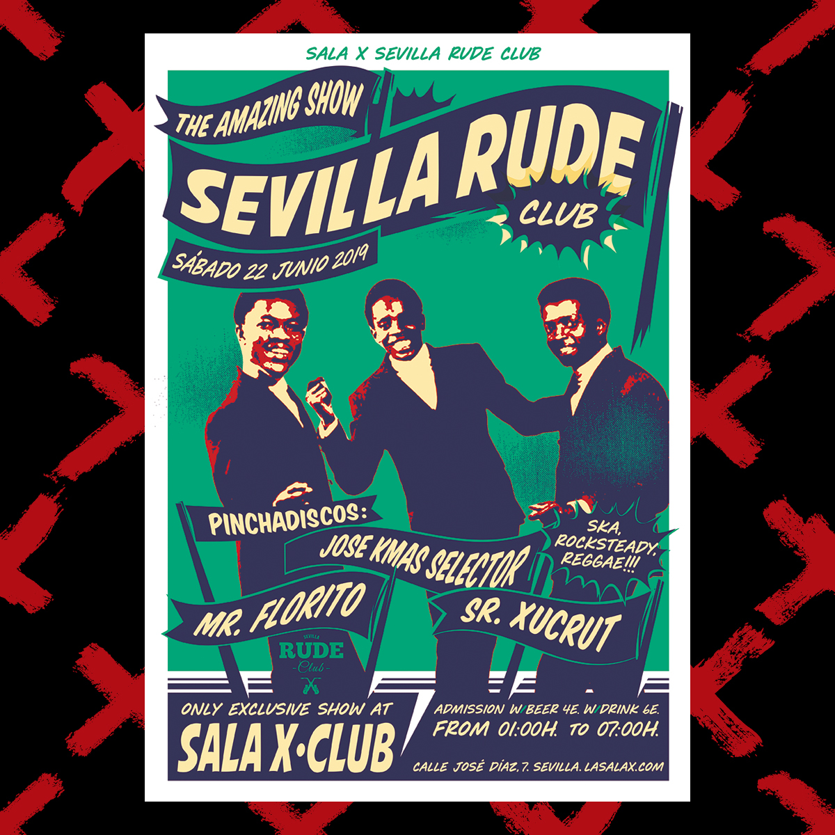 SEVILLA RUDE CLUB JUNIO 19