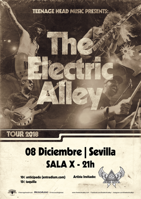 the electric alley diciembre