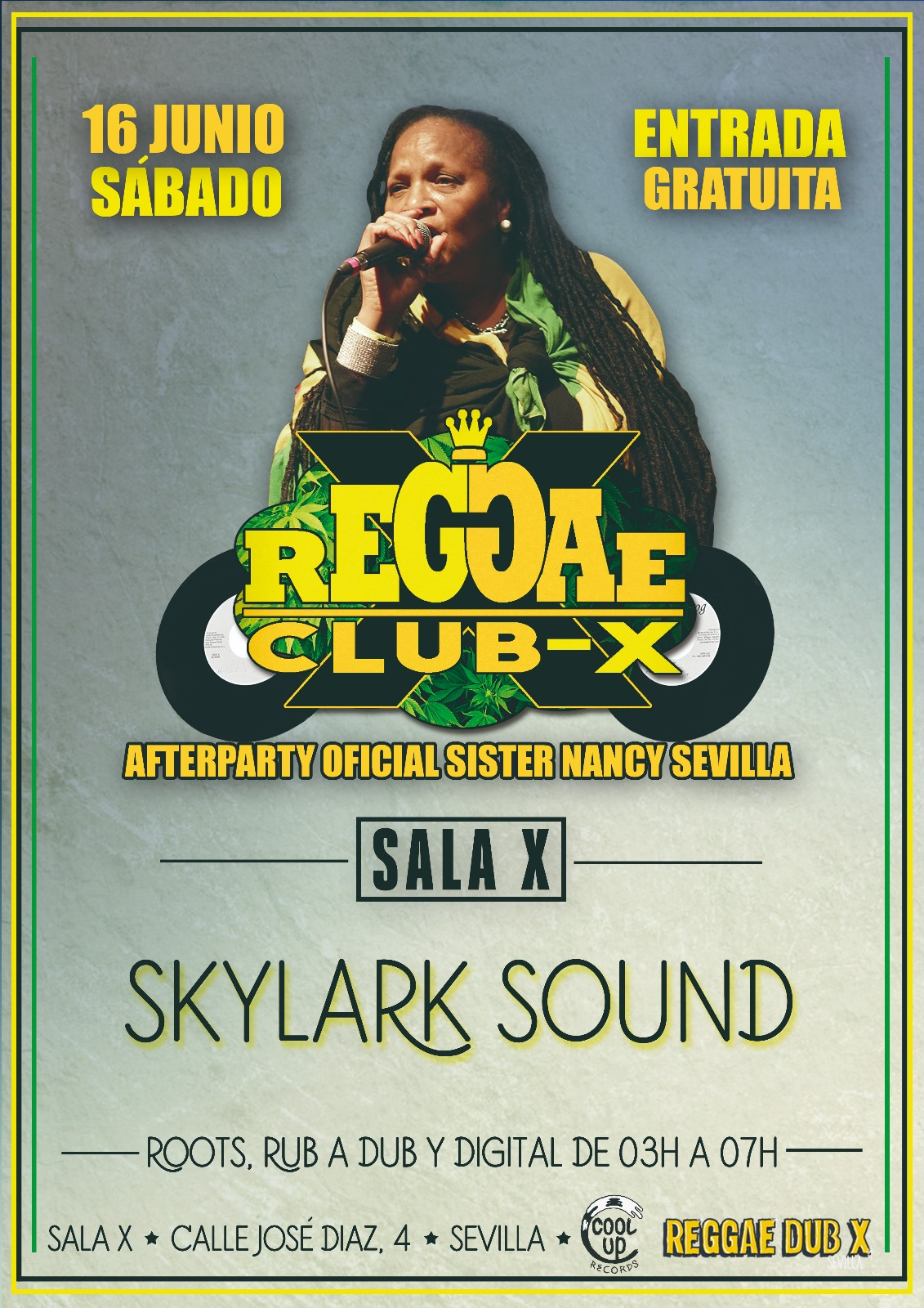 reggae afterparty sister nancy