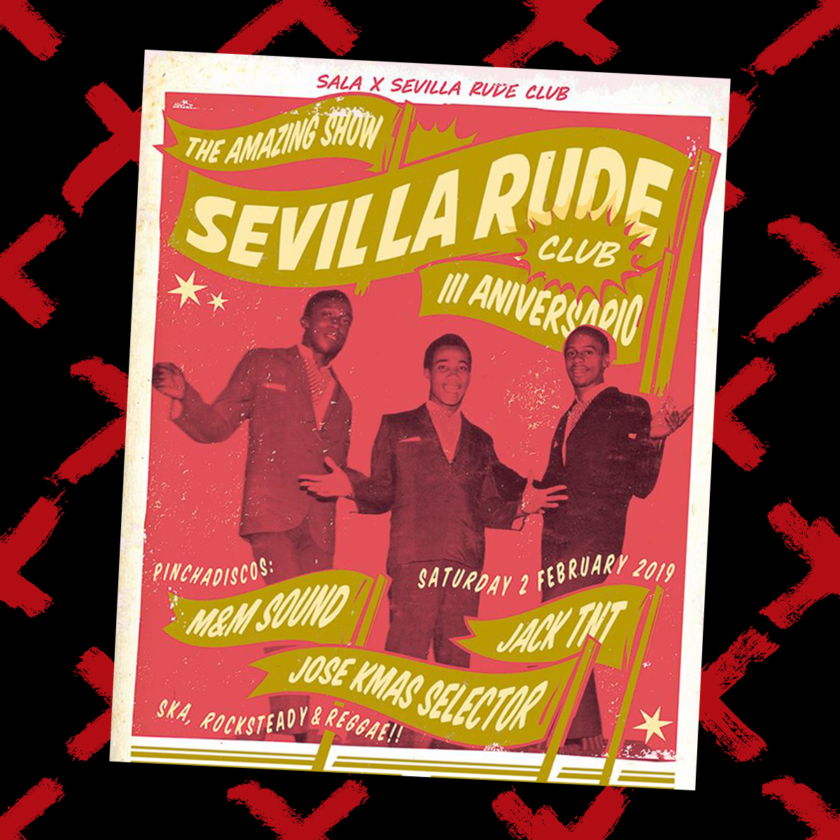SEVILLA RUDE CLUB FEBRERO INSTAGRAM