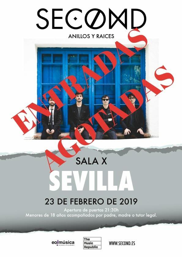 SECOND CARTEL SEVILLA SOLD OUT