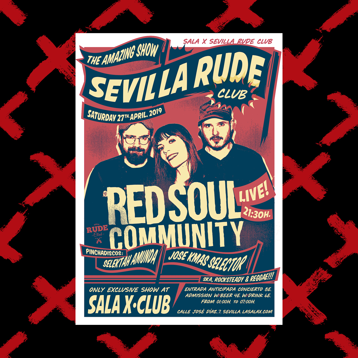Sevilla Rude Club abril instagram