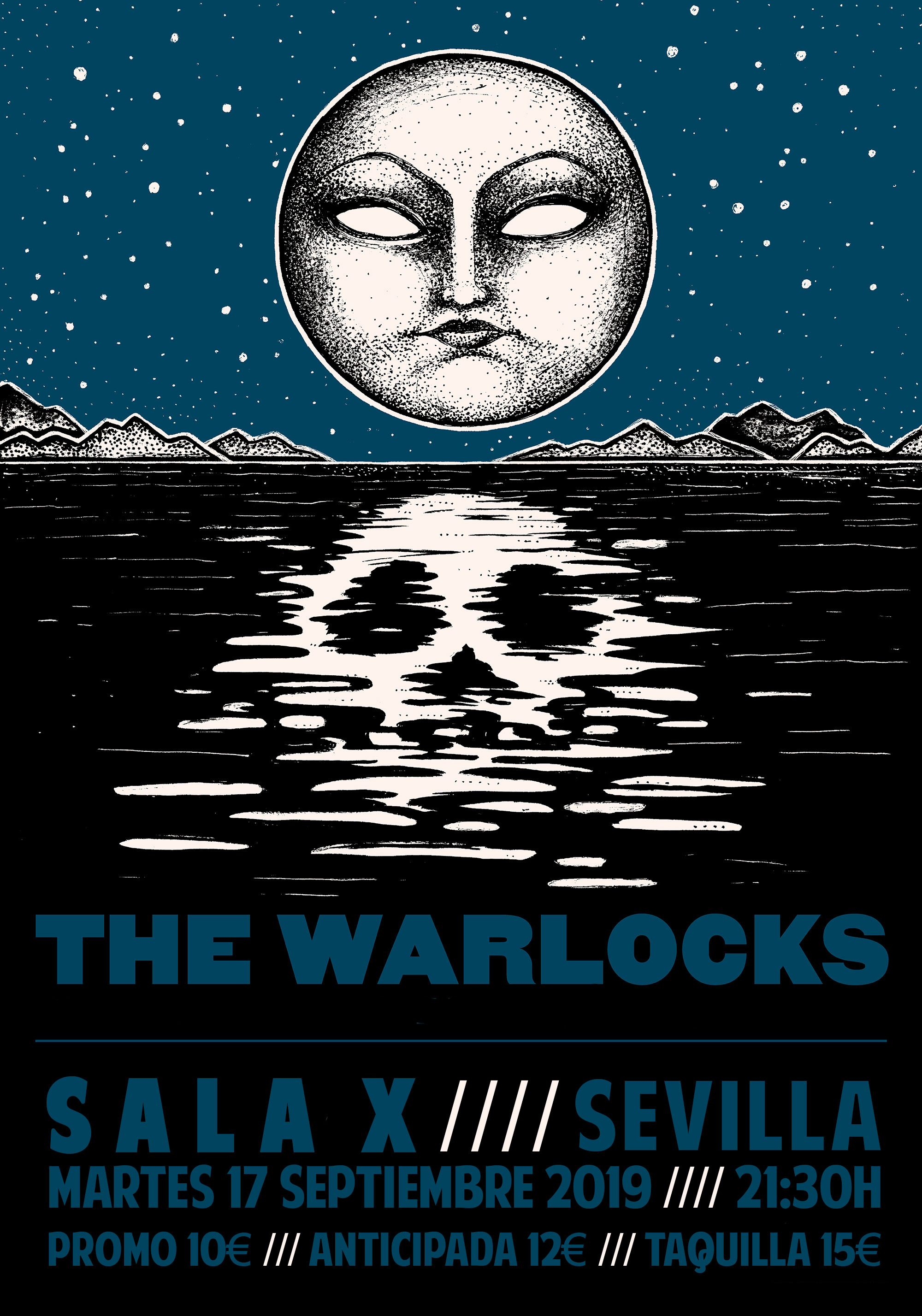 2019-09-17 The Warlocks cartel sala x