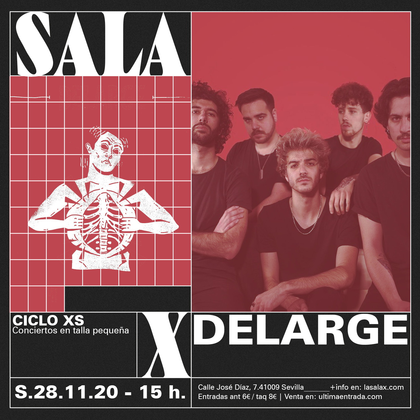 cartel delarge XS