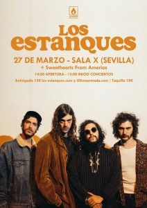 Los Estanques + Sweethearts from America